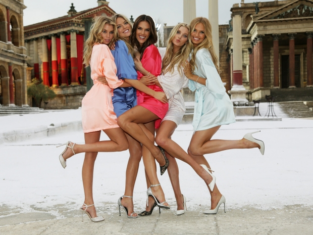Behind the scenes of the new Victoria's Secret commercial with the Angels