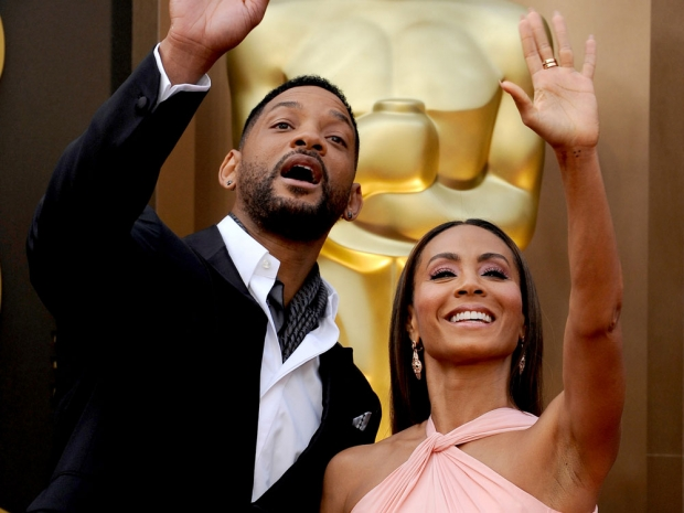 Will Smith and Jada Smith red carpet