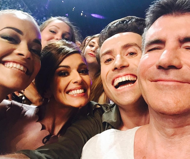 the x factor judging panel 2015