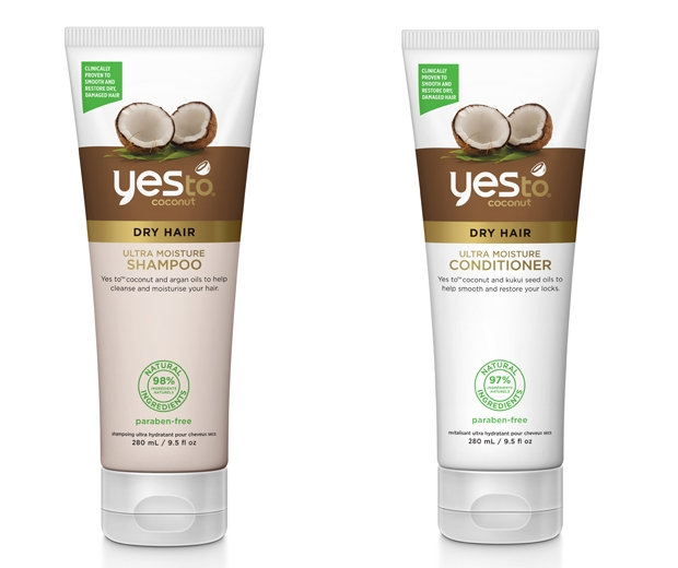yes to coconut shampoo and conditioner - look.co.uk