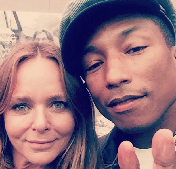 Hanging out with Pharrell at Glastonbury