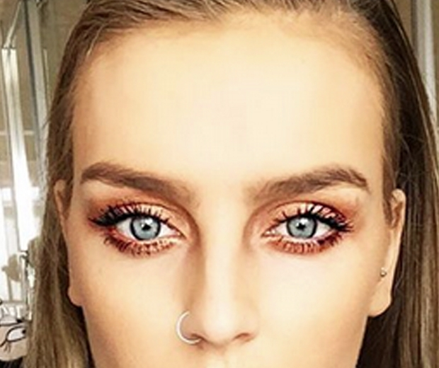 Perrie Edwards Puts Her Game Face On Look