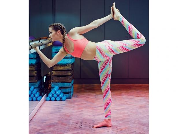 Millie Mackintosh workout