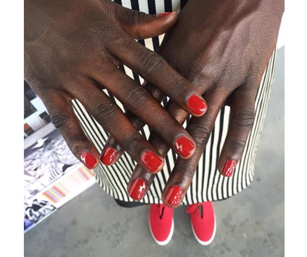 Nails at Misha Nonoon SS16