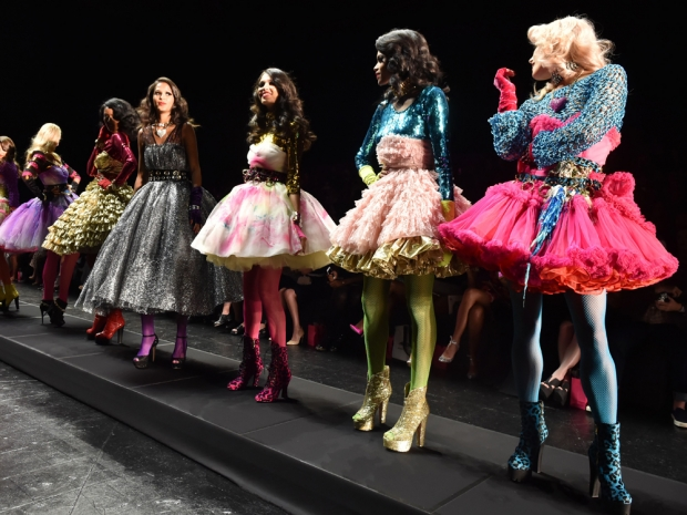 Betsey Johnson SS16 at New York Fashion Week