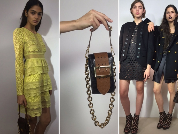 Burberry's new collection includes lots of lace and an exciting new bag drop.