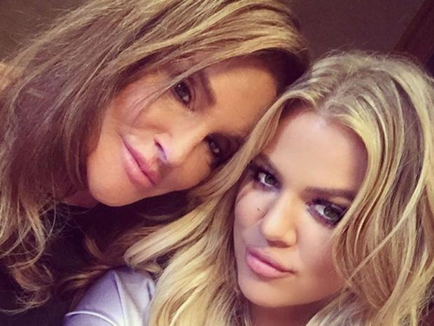 Khloe Kardashian and Caitlyn Jenner