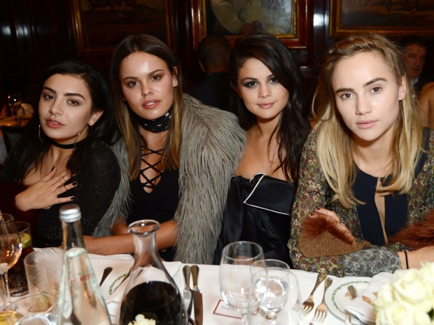 Selena Gomez, Charli XCX, Atlanta de Cadenet Taylor and Suki Waterhouse