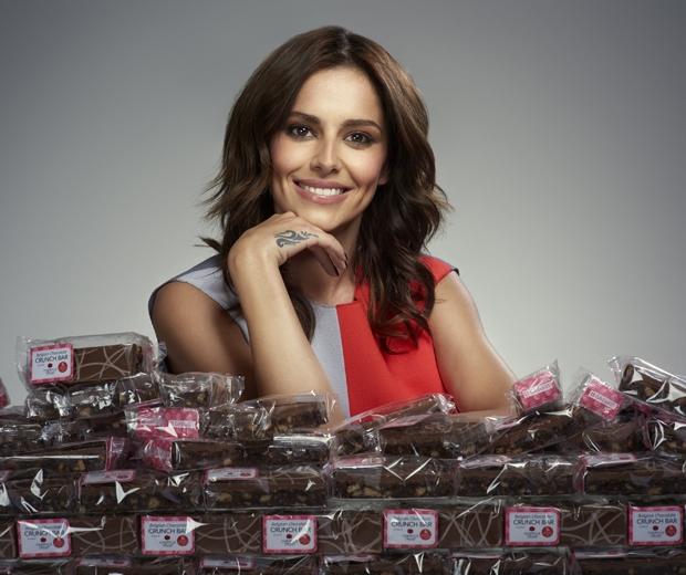 cheryl fernandez-versini greggs chocolate bar