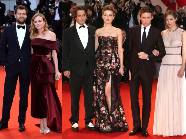 Our favourite A-list couples at the Venice Film Festival