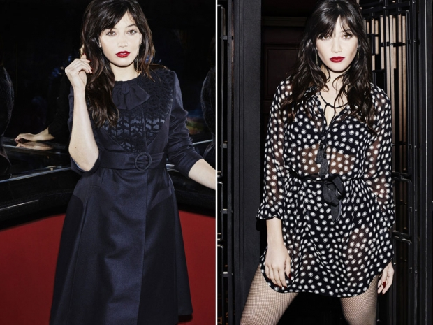 Daisy Lowe showing off two more looks from the gorgeous new range.