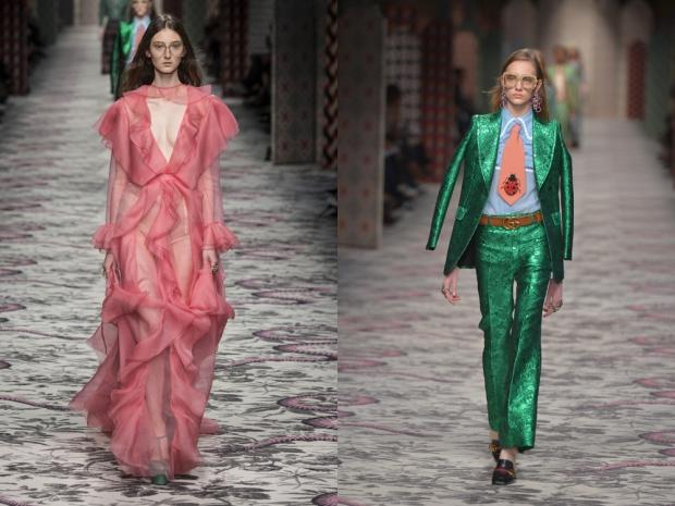 Gucci SS16 at Milan Fashion Week