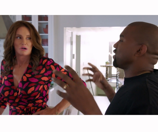 Kanye West has some sweet words of support for Caitlyn Jenner