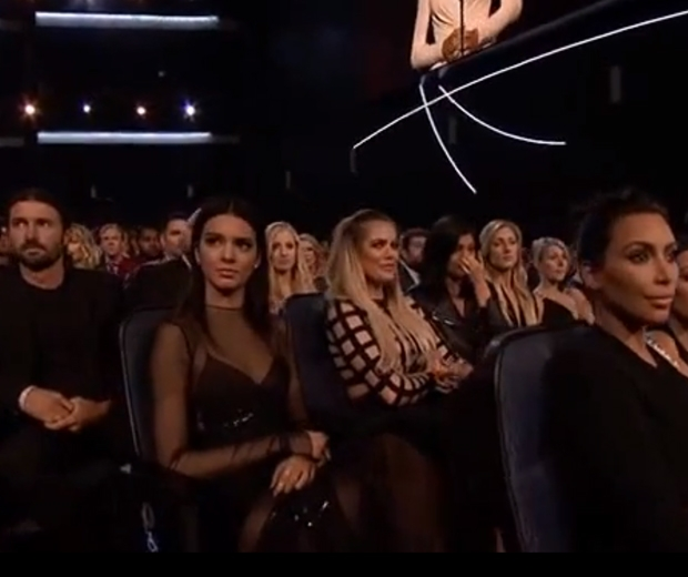 Kendall, Khloe, Kylie, Kim and Brandon were all getting teary in the audience