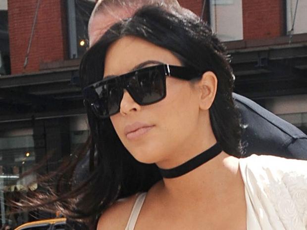 Kim Kardashian at New York Fashion Week