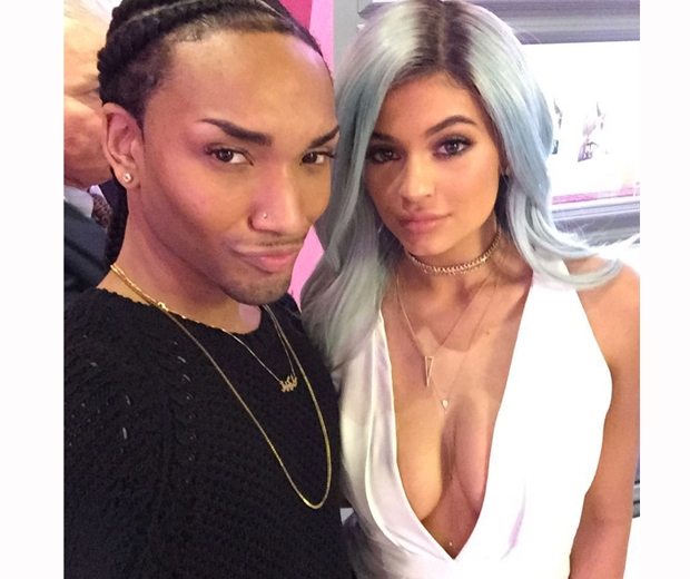 Kylie Jenner and wig-creator Tokyo Stylez cosy up on Instagram