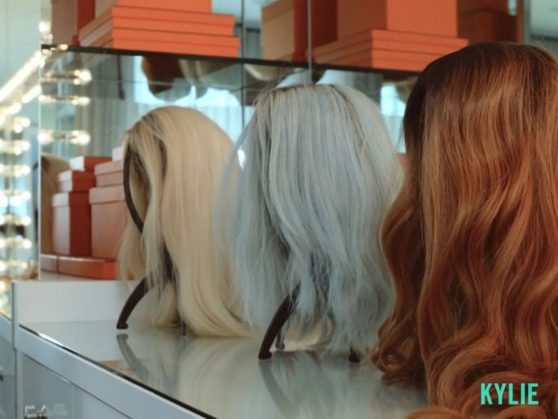 Kylie Jenner's wigs