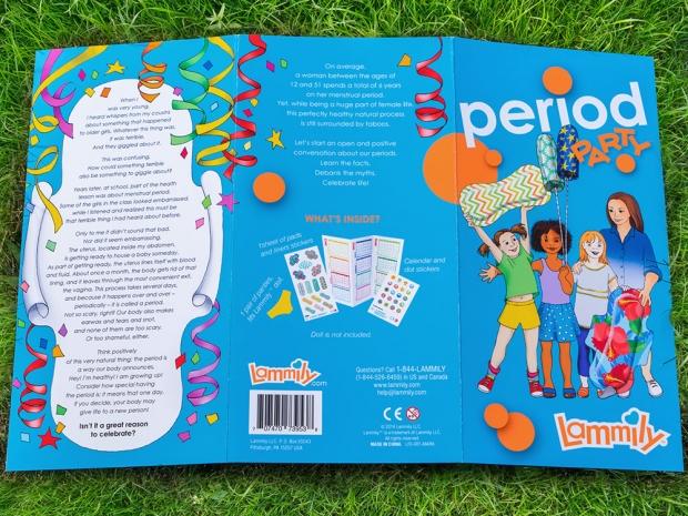 Lammily 'Period Party' kit