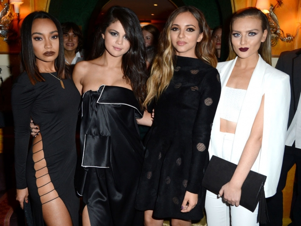Little Mix and Selena Gomez