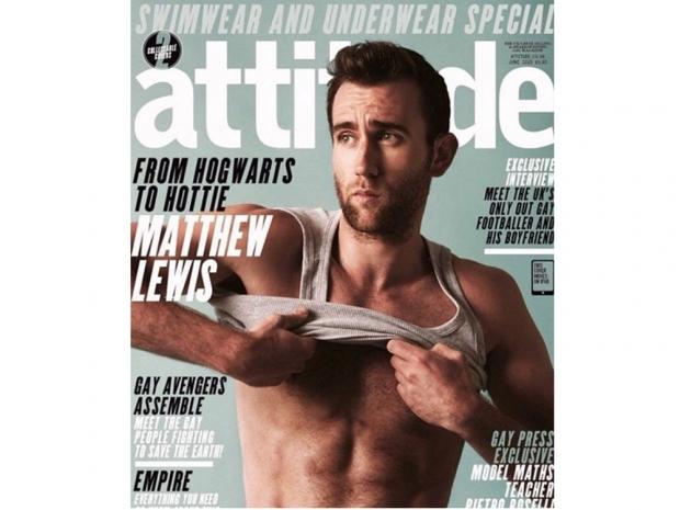 Matthew Lewis Attitude Magazine cover