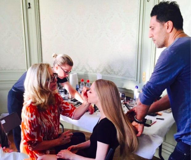 Mary Greenwell Getting Amanda Seyfried Ready