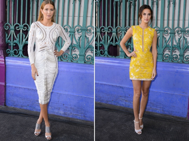 Millie Mackintosh and Lucy Watson at the show.