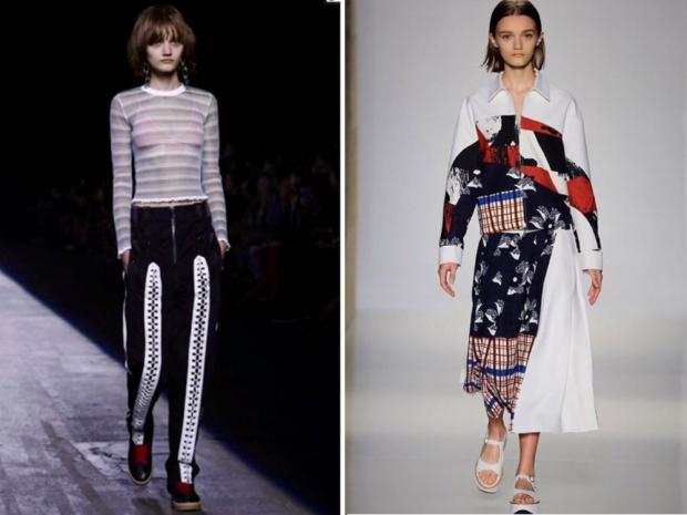 Peyton Knight New York Fashion Week