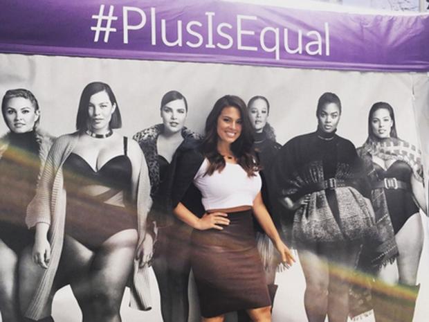 Ashley Graham Plus Is Equal