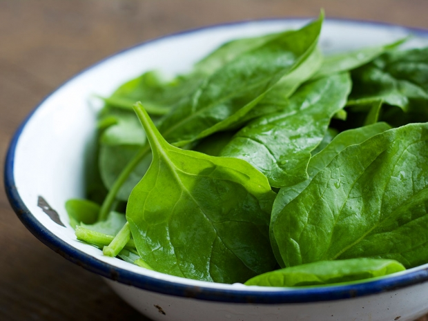 Food contouring: Spinach