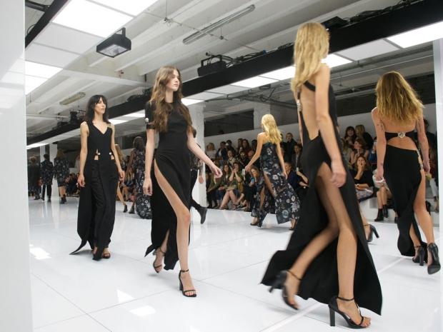 Versus at London Fashion Week