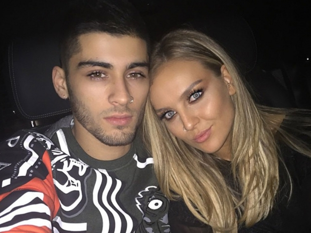 Perrie Edwards and Zayn Malik in Instagram photo