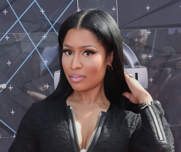Nicki Minaj, but have you got enough foundation on?