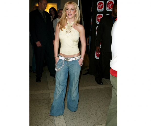 Britney in her baggy jeans
