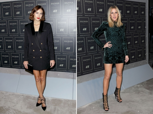 Alexa Chung and Ellie Goulding make the line look amazing!