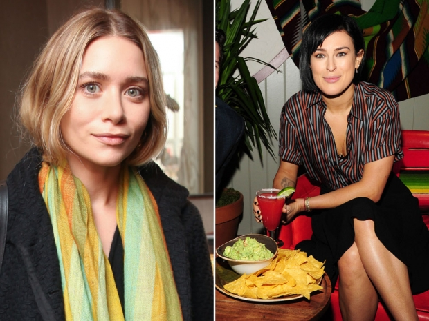 Ashley Olsen and Rumer Willis were once considered to play the roles.