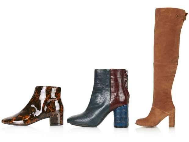 Topshop's amazing selection of boots, where you'll find a style for any budget