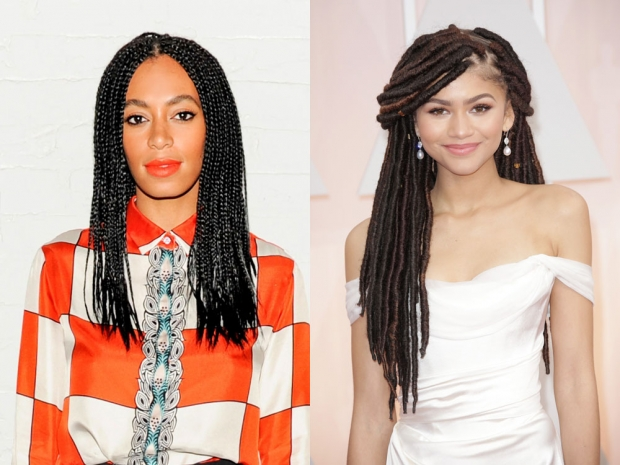 Solange Knowles and Zendaya