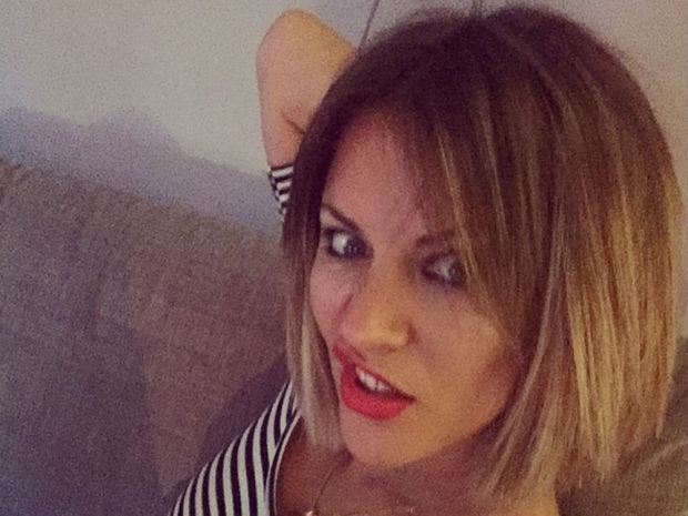 Caroline Flack posts a photo of her blonde bob on Instagram