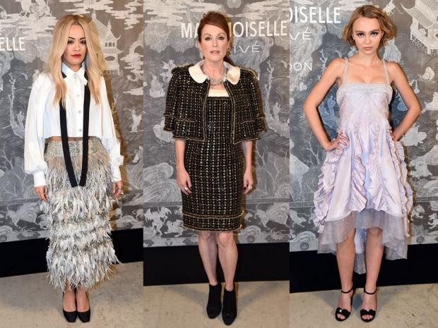 Rita Ora Julianne Moore Lily Rose Depp