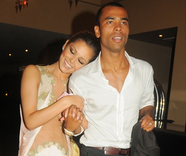 Cheryl Fernandez-Versini and ashley cole