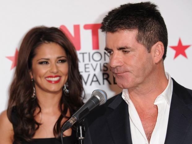 Cheryl Fernandez-Versini and Simon Cowell