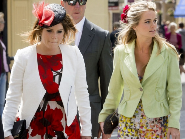 Cressida Bonas with Princess Eugenie.