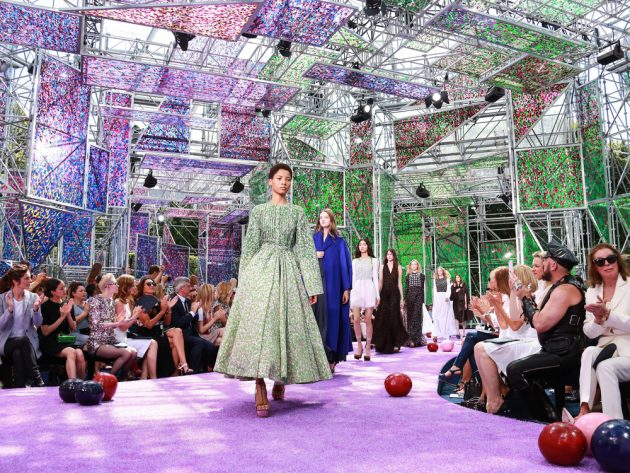 Paris Fashion Week is always a spectacle, as Dior's AW15 show proved