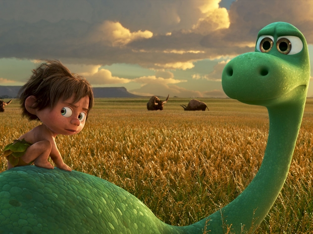 Arlo in The Good Dinosaur