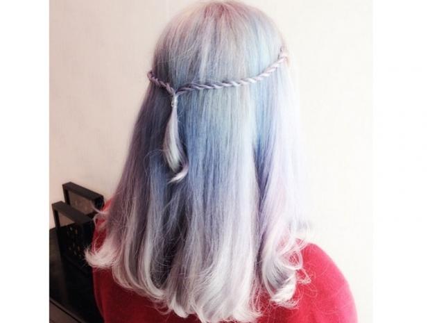 grey hair trend