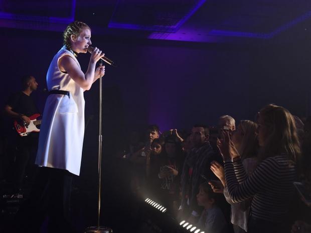 Jess Glynne at The Hilton Bankside