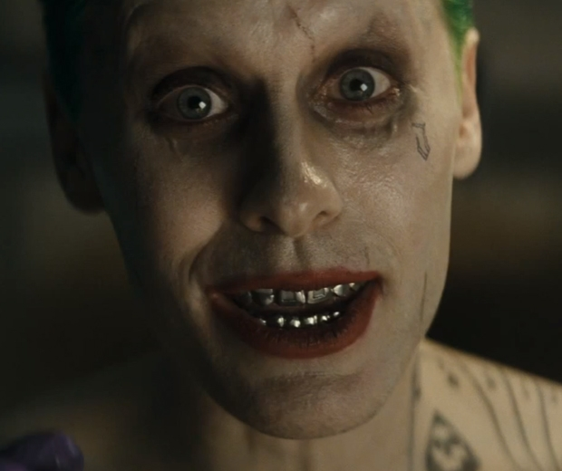 Jared Leto stars as The Joker in Suicide Squad