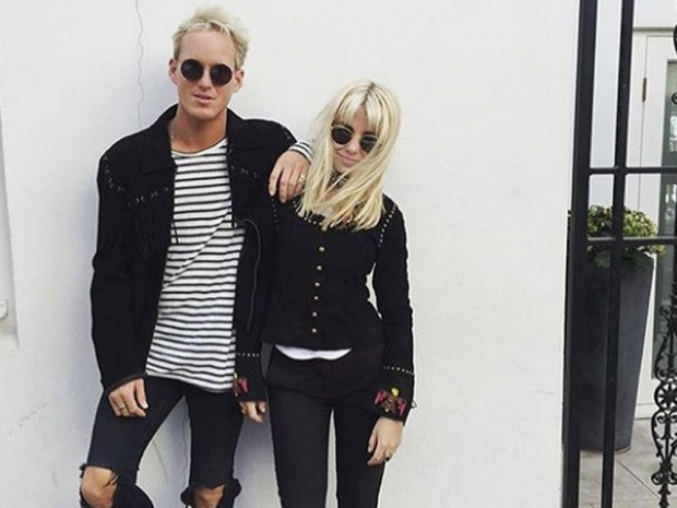 Jamie Laing and Jess Woodley
