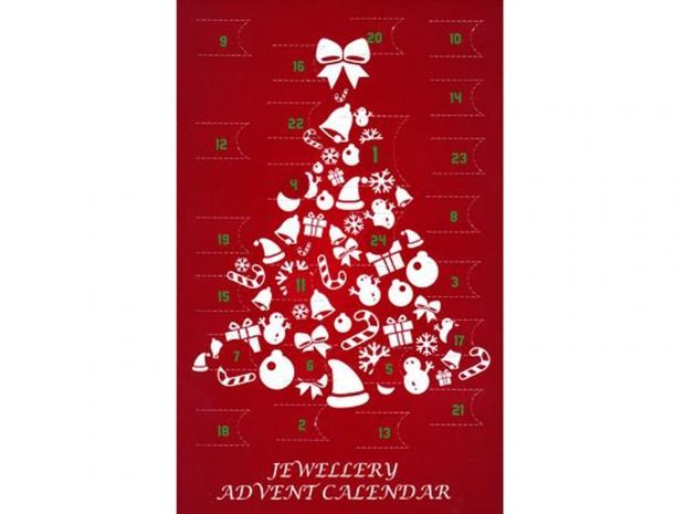 Jewellery advent calendar