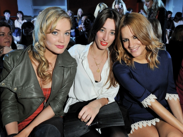 Laura Whitmore, Laura Jackson and Caroline Flack